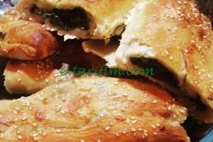 Ekmek Hamuruyla Ispanaklı Börek