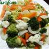 Karnabahar ve Brokoli Salatası (Kış Salatası)